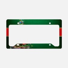 Merry Christmas License Plate Holder