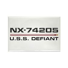 USS Defiant DS9 Dark Magnets