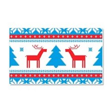 Ugly Christmas Sweater Car Magnet 20 x 12