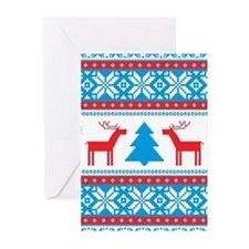 Ugly Christmas Sweater Greeting Cards