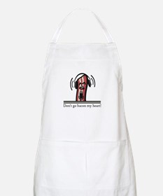 Dont Go Bacon My Heart Apron