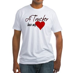 A Trucker has my heart Shirt