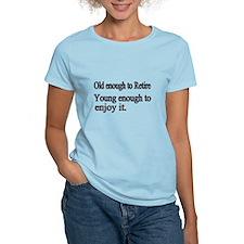 Unique Funny retirement T-Shirt