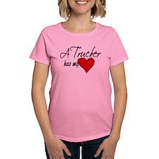 A Trucker has my heart Tee