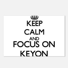 Keep Calm and Focus on Ke Postcards (Package of 8)