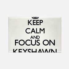 Keep Calm and Focus on Keyshawn Magnets