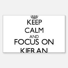 Keep Calm and Focus on Kieran Decal