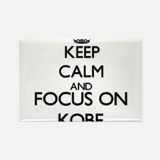 Keep Calm and Focus on Kobe Magnets