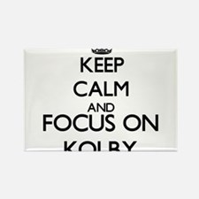Keep Calm and Focus on Kolby Magnets