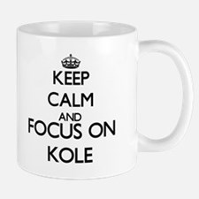 Keep Calm and Focus on Kole Mugs