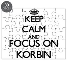 Keep Calm and Focus on Korbin Puzzle