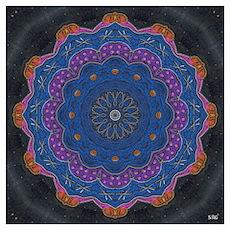 Alchemy Art Mandala Wall Art Poster
