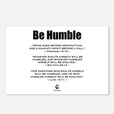 Be Humble 2.0 - Postcards (Package of 8)