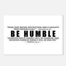 Be Humble 3.0 - Postcards (Package of 8)