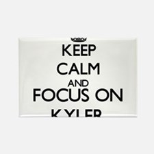 Keep Calm and Focus on Kyler Magnets