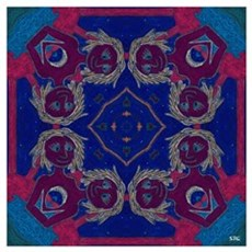 Agape Art Mandala Wall Art Poster
