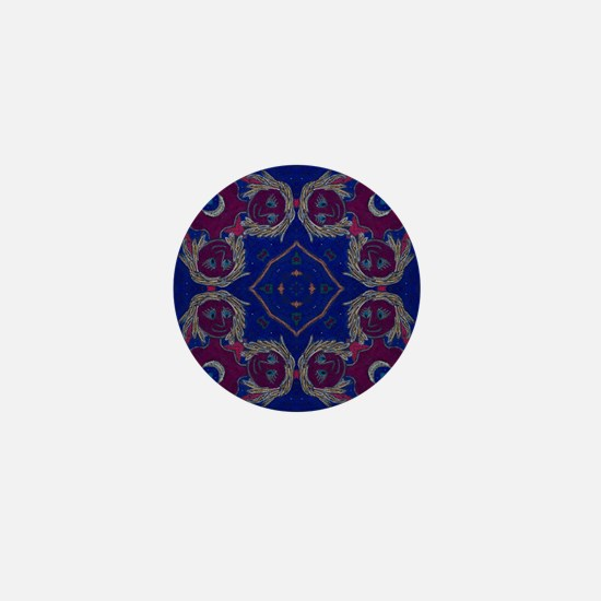 Agape Art Mandala Mini Button