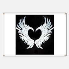 Angelwings heart Banner