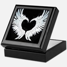 Angelwings heart Keepsake Box