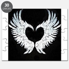 Angelwings heart Puzzle