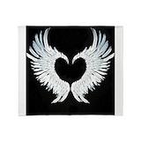 Angel wings Fleece Blankets