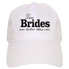 TWO BRIDES ARE BETTER THAN ONE. LESBIAN WEDDING. B