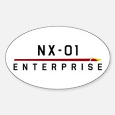NX-01 Enterprise Dark Decal