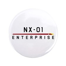 "NX-01 Enterprise Dark 3.5"" Button (100 pack)"