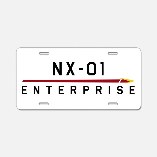 NX-01 Enterprise Dark Aluminum License Plate