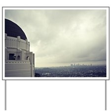 Griffith Observatory Yard Sign