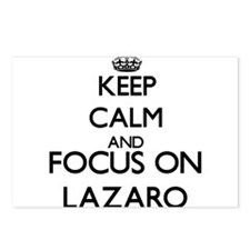 Keep Calm and Focus on La Postcards (Package of 8)