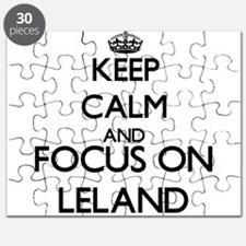 Keep Calm and Focus on Leland Puzzle