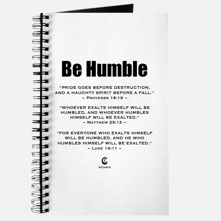 Be Humble 2.0 - Journal