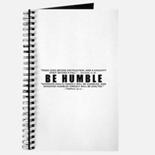 Be Humble 3.0 - Journal