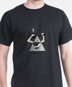 All Seeing Skter T-Shirt