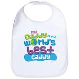 Daddys my caddy Cotton Bibs
