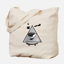 All Seeing Skter Tote Bag