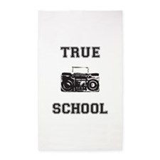 True School Area Rug
