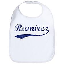 Ramirez - vintage (blue) Bib