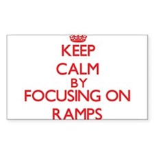 Keep Calm by focusing on Ramps Decal