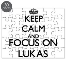 Keep Calm and Focus on Lukas Puzzle