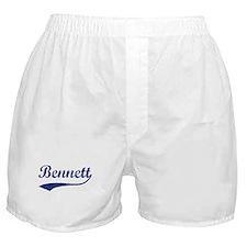 Bennett - vintage (blue) Boxer Shorts
