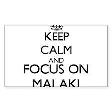 Keep Calm and Focus on Malaki Decal
