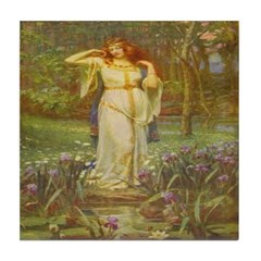 Freyja (Viking) Tile Coaster