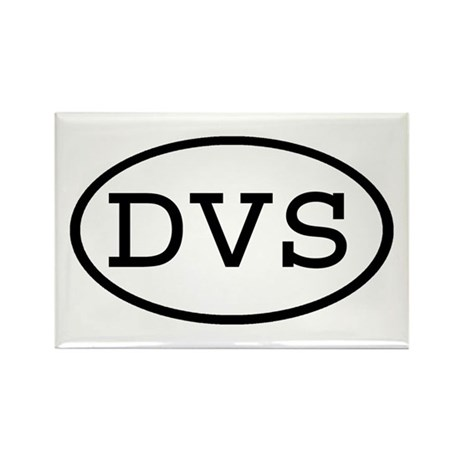 DVS Oval Rectangle Magnet (10 pack)