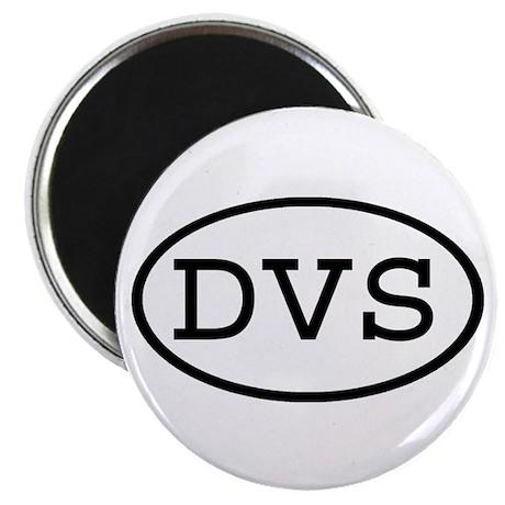 """DVS Oval 2.25"""" Magnet (100 pack)"""