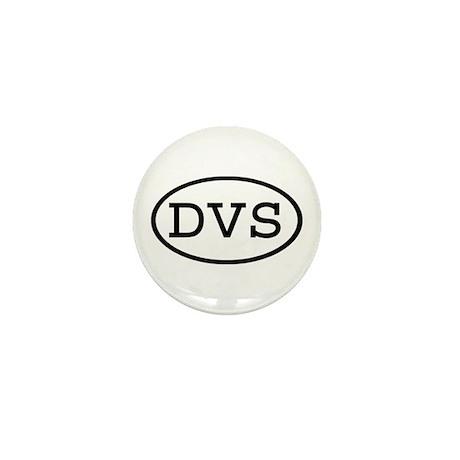 DVS Oval Mini Button (100 pack)