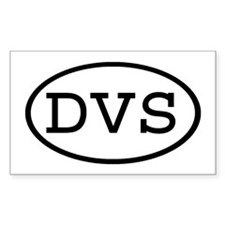 DVS Oval Rectangle Decal