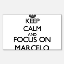 Keep Calm and Focus on Marcelo Decal