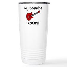 Cute Grandpa rocks Travel Mug